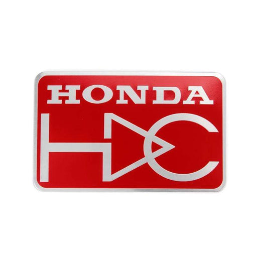 Honda Nameplate Trunk Emblem Sticker