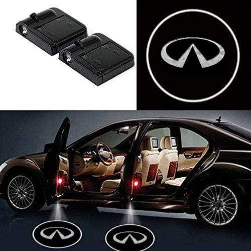 2pcs Infiniti Logo Wireless Car Door Led Laser Projector