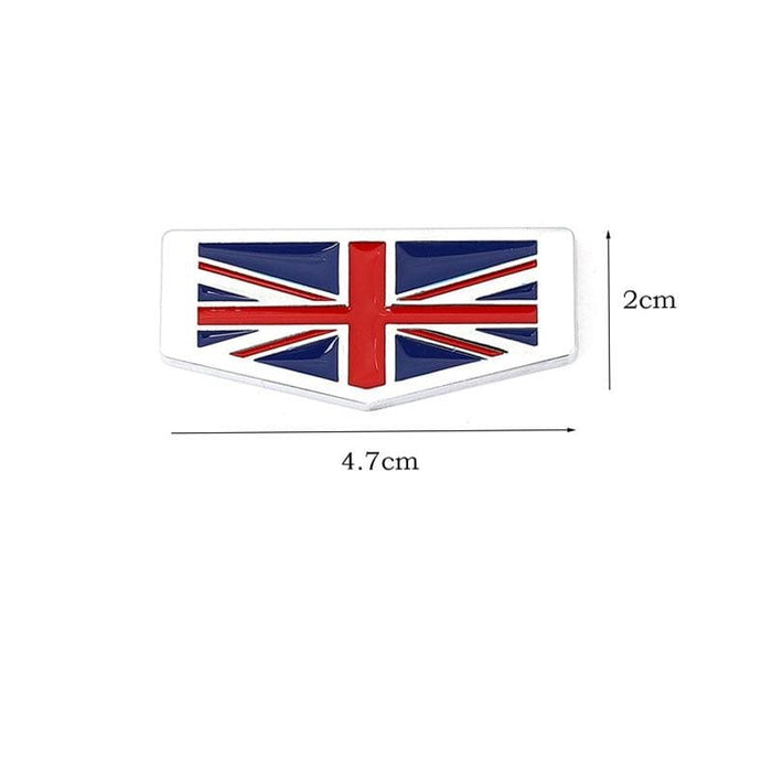 Italy Germany France England Flag Emblem Sticker