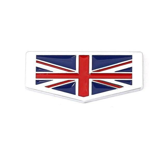 Italy Germany France England Flag Emblem Sticker England Flag [350686]