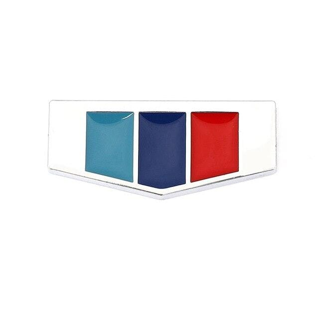 Italy Germany France England Flag Emblem Sticker for BMW Sticker [29]