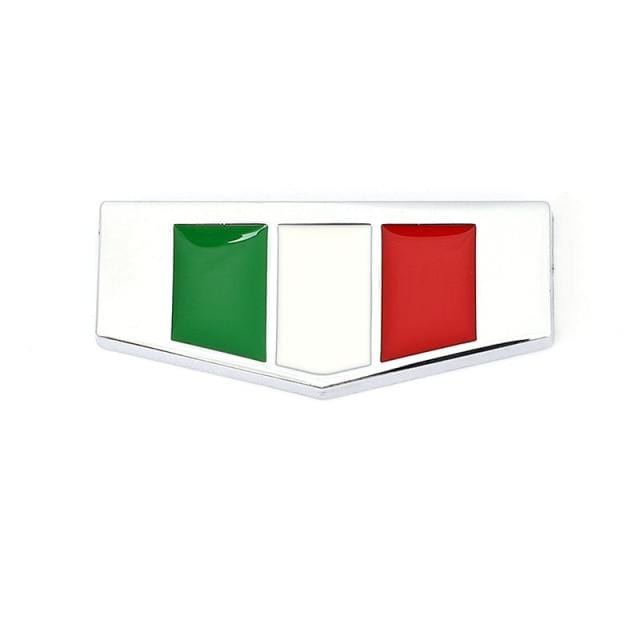 Italy Germany France England Flag Emblem Sticker Italy Flag Sticker [10]