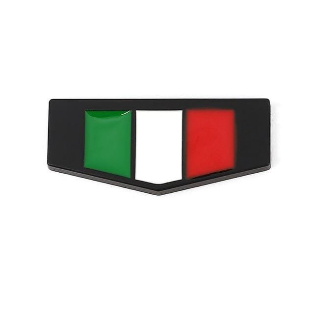 Italy Germany France England Flag Emblem Sticker Italy Flag Sticker