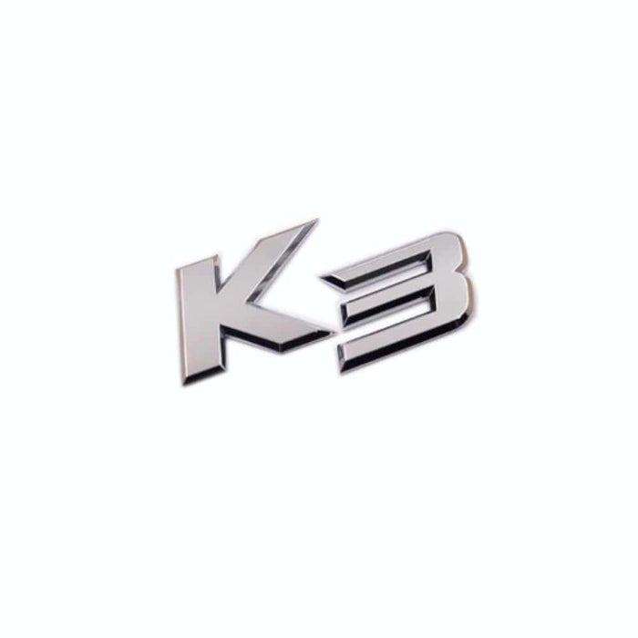 K3 KIA Trunk Emblem Sticker