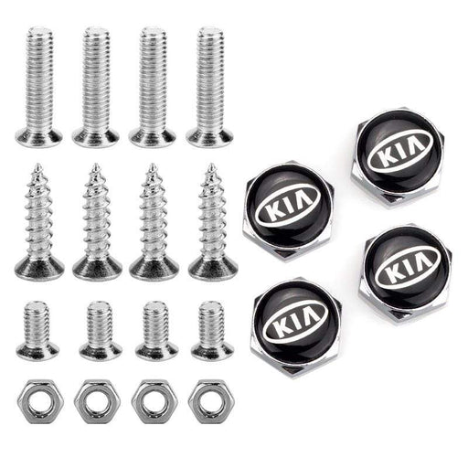 4pcs License Plate Screws for KIA Frame