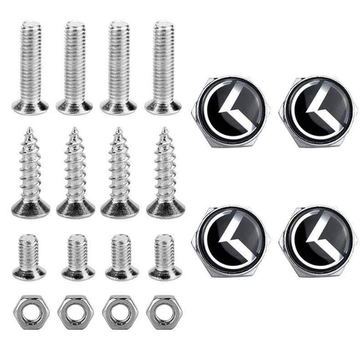 4pcs License Plate Screws for KIA K Frame