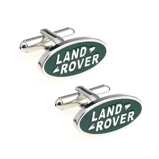 2pcs Land Rover Logo Men's Shirt Cufflinks