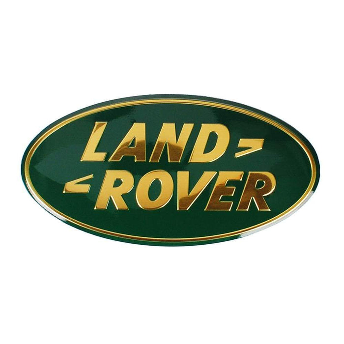 LAND ROVER Land Rover Logo Trunk Emblem Sticker Trunk Emblem Green