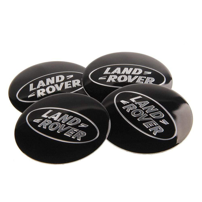 4pcs 56.5mm Land Rover Logo Wheel Centre Stickers