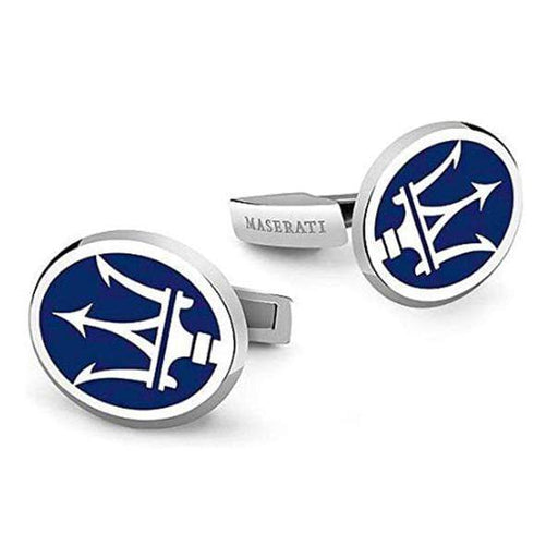 2pcs Maserati Logo Men's Shirt Cufflinks