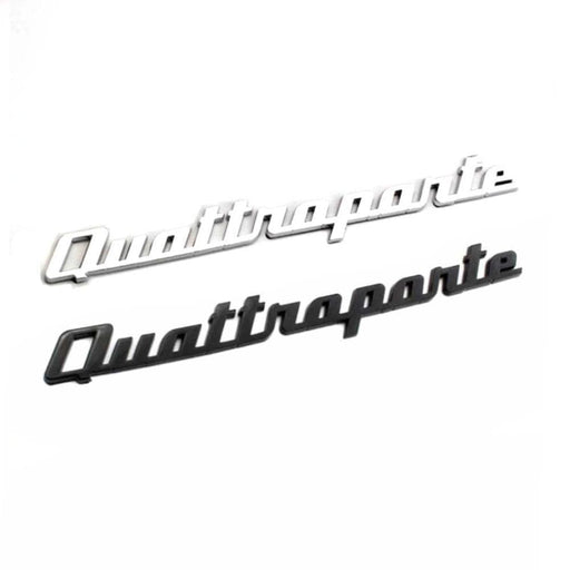 Quattroporte Emblem Sticker for Maserati