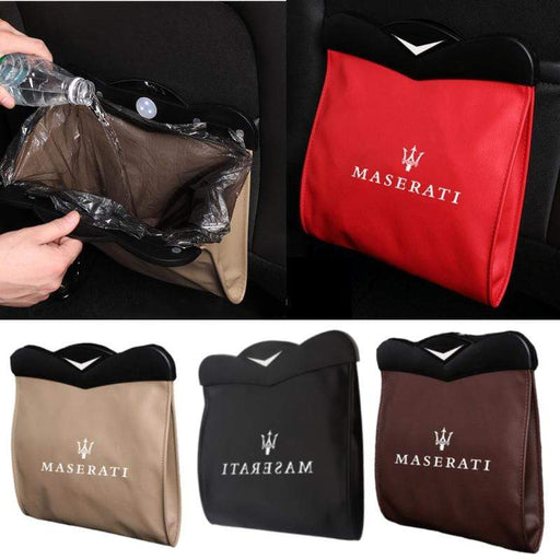 Seat Back Garbage Bag for Maserati