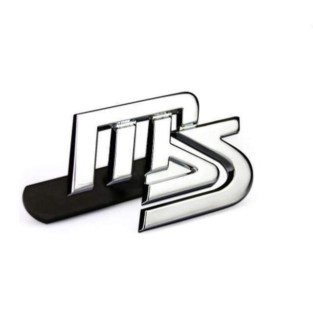 MAZDA MS MazdaSpeed Grille Emblem for Mazda Emblems for Grille