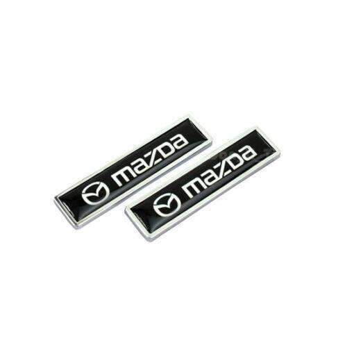 MAZDA 2pcs Emblem Stickers For Mazda Emblems Stickers