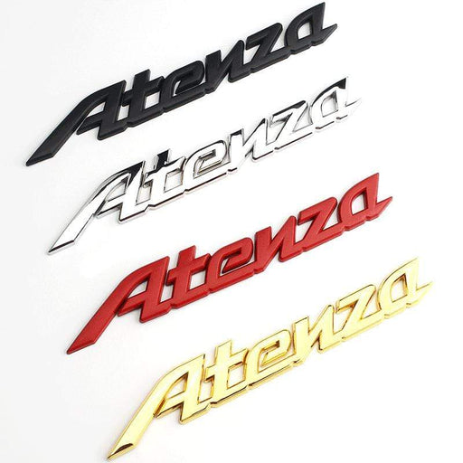 Atenza Letters Emblem Sticker for Mazda
