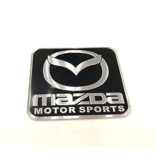 MAZDA Mazda Motor Sports Emblem Emblems Stickers