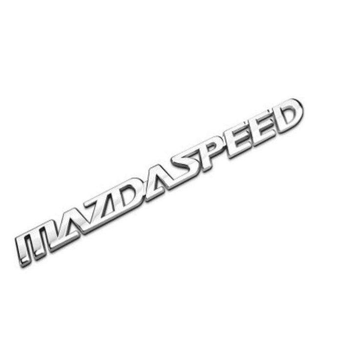 MAZDA MazdaSpeed Emblem for Mazda Emblems Stickers