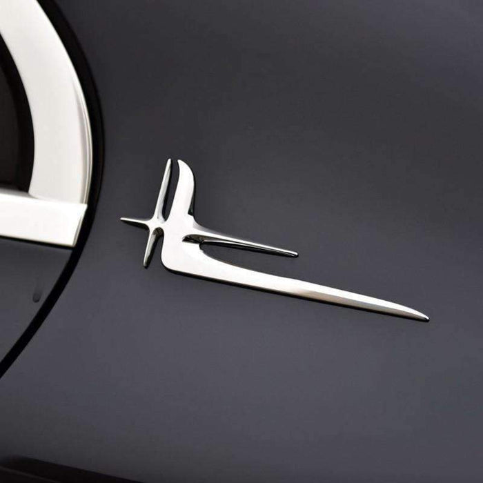 MERCEDES-BENZ 2pcs Extended Edition Emblem For Mercedes-Benz Emblems Stickers