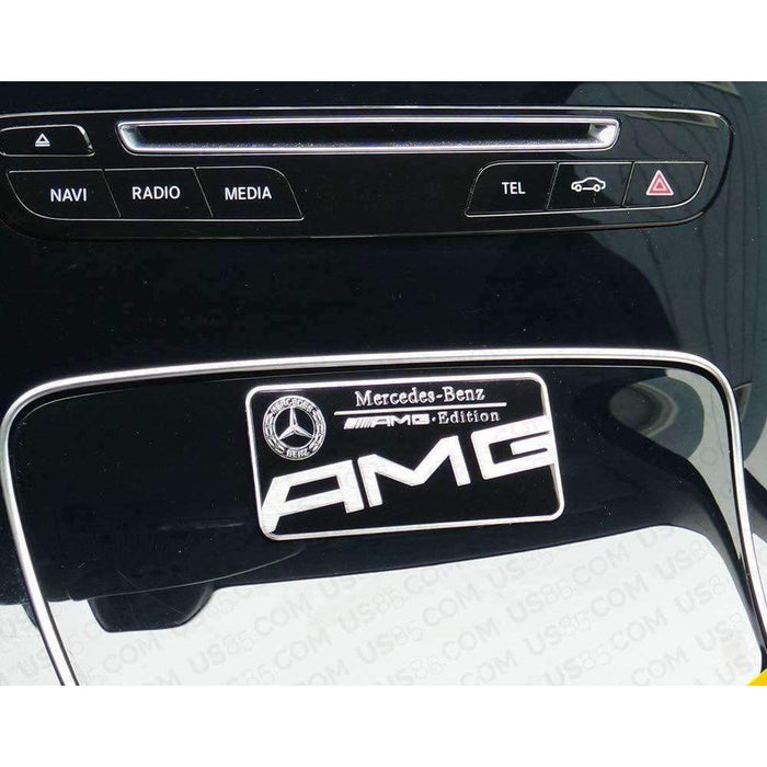 Black AMG Edition Emblem For Mercedes-Benz