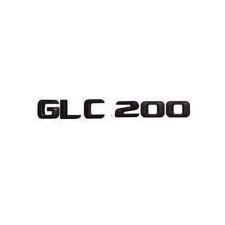 GLC 200 Black Emblem For Mercedes-Benz GLC