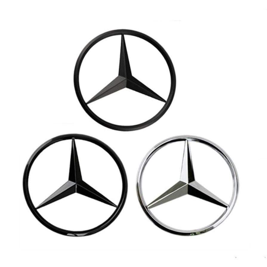 Mercedes-Benz Logo Star Trunk Emblem A Сlass W176 Number