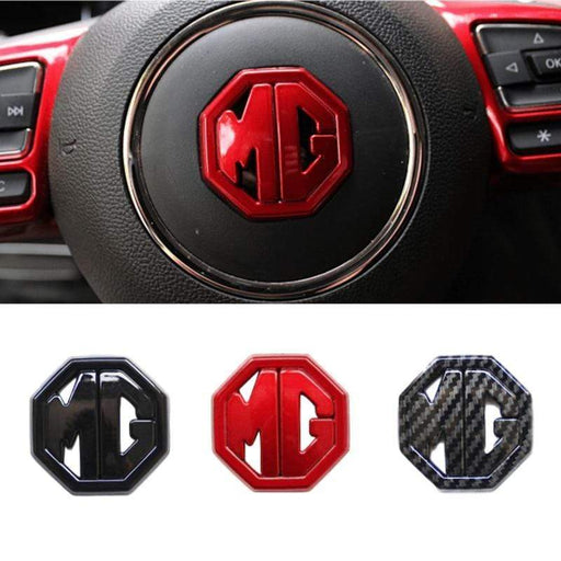 Steering Wheel Sticker For MG ZS