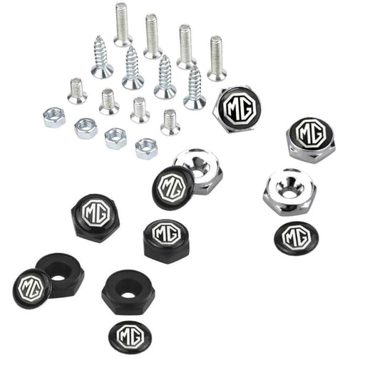4pcs License Plate Screws Bolts For MG
