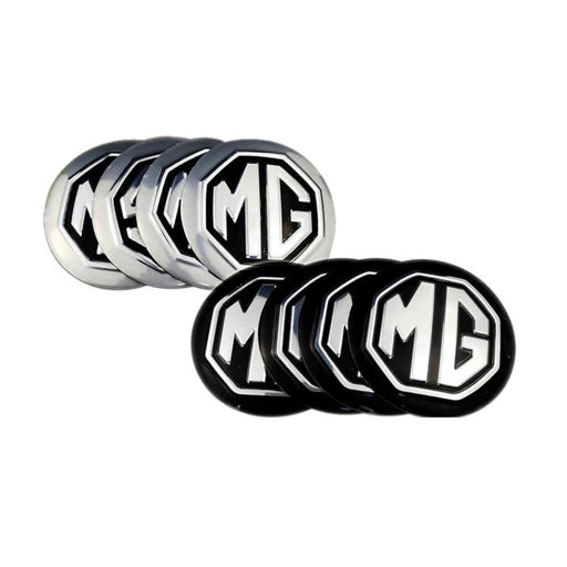 4pcs 56mm Wheel Center Stickers For MG