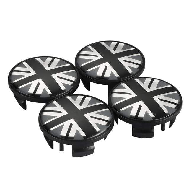 Natalex Auto 4pcs 54mm  Mini Cooper Wheel Center Hub  Caps