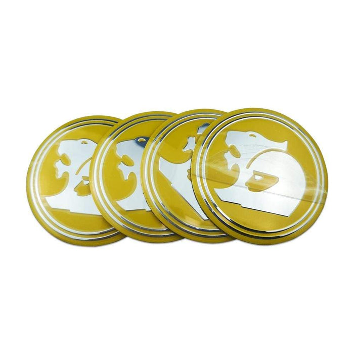 Natalex Auto 4pcs 56mm Wheel Center Stickers for Holden