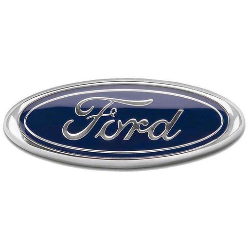 6 inch Ford Logo Front/Trunk Emblem Sticker - Blue