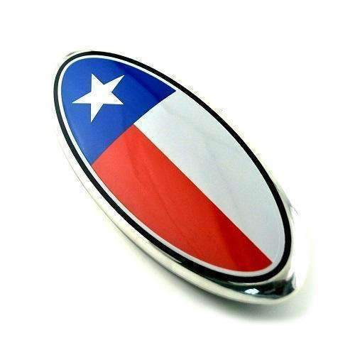 Natalex Auto Texas Flag Grille Emblem for Ford Emblems for Grille