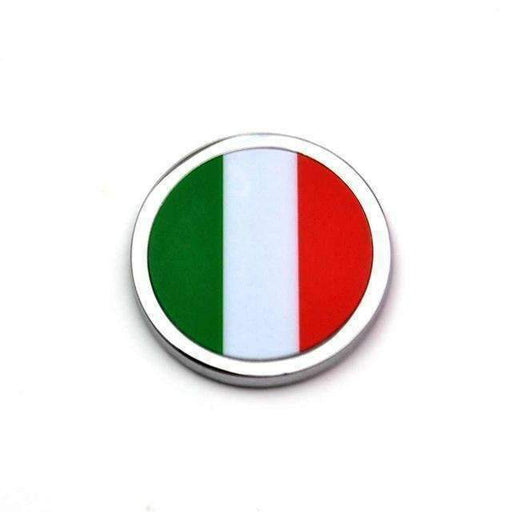 Natalex Auto 2 Pcs Italia Flag Emblems Emblems Stickers