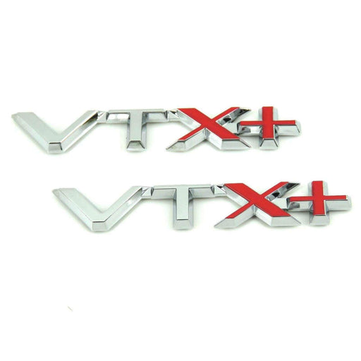 2pcs VTX+ Emblem for Citroen