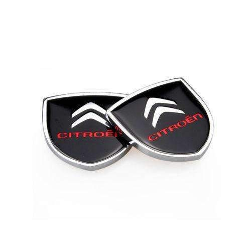 2pcs Citroen Shield Emblem