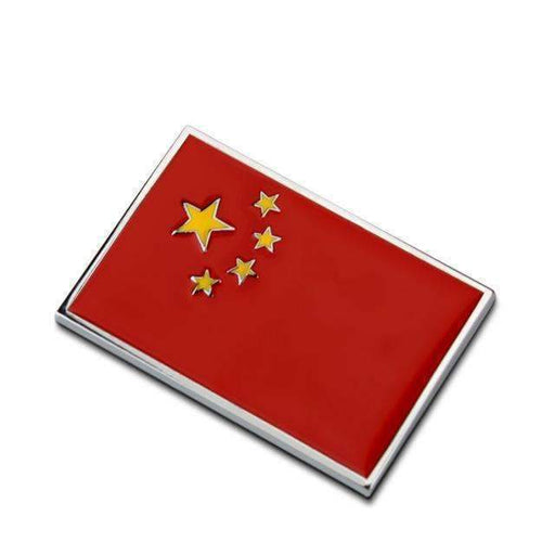 Natalex Auto China Flag Emblem Sticker Emblems Stickers