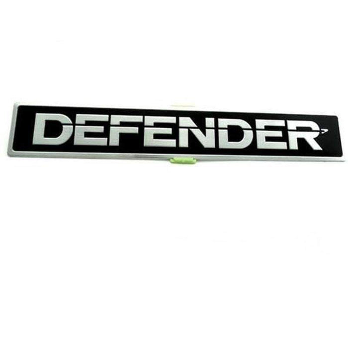 Natalex Auto DEFENDER Aluminium Emblem Sticker Emblems Stickers