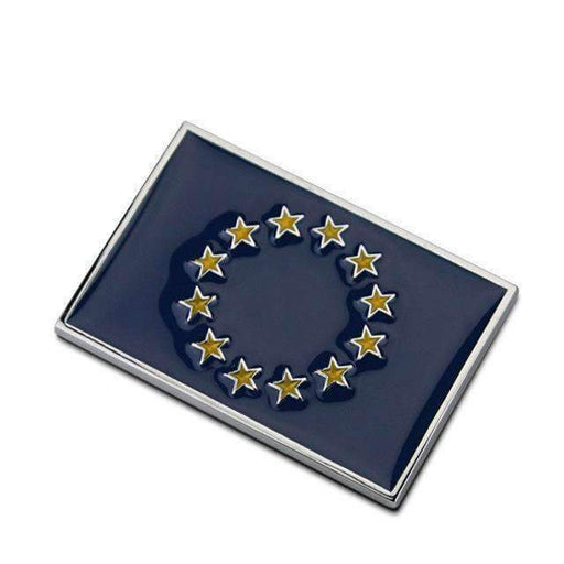Natalex Auto EU Flag Emblem Sticker Emblems Stickers