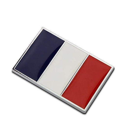 Natalex Auto France Flag Emblem Sticker Emblems Stickers