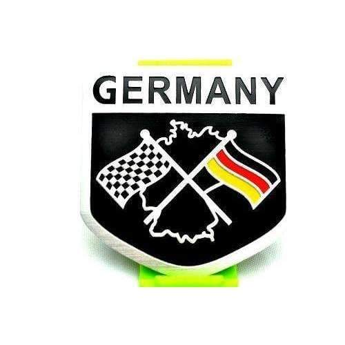 Natalex Auto Germany Black National Flag Emblem Sticker Emblems Stickers