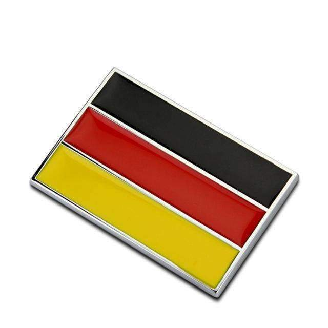 Germany Flag Emblem Sticker