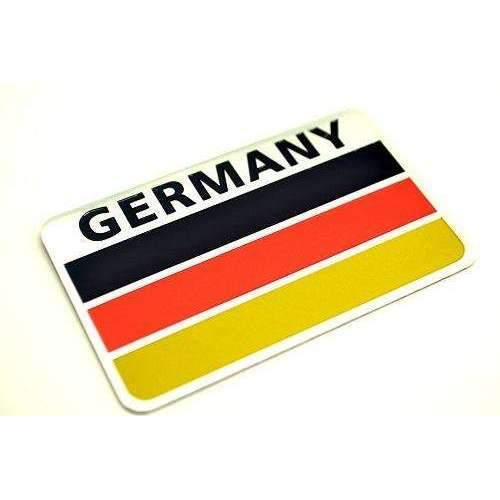 Natalex Auto Germany National Flag Emblem Sticker Emblems Stickers