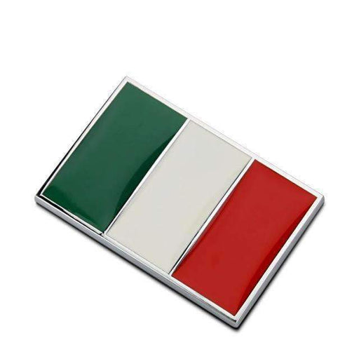 Natalex Auto Italy Flag Emblem Sticker Emblems Stickers