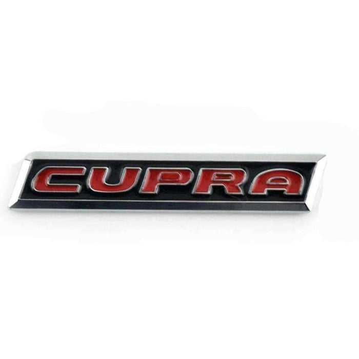 Natalex Auto SEAT Cupra Logo Black Emblem Sticker Emblems Stickers