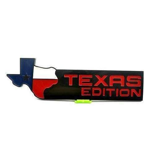 Natalex Auto Texas Edition Black Emblem Sticker Emblems Stickers