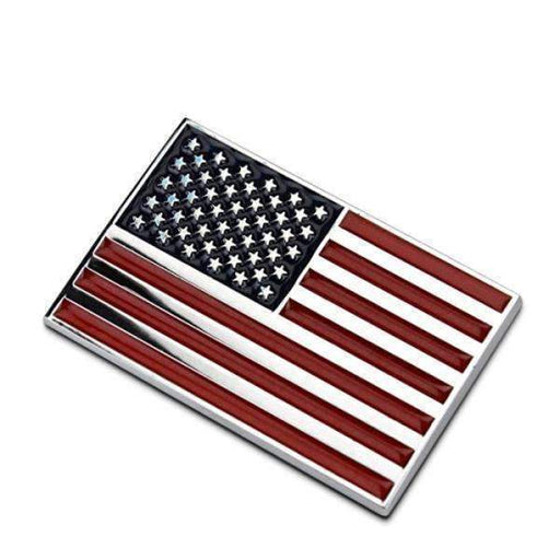 Natalex Auto USA Flag Emblem Sticker Emblems Stickers