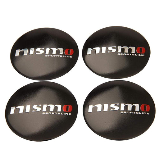 4pcs 56.5mm Nissan Nismo Sportsline Wheel Centre Stickers