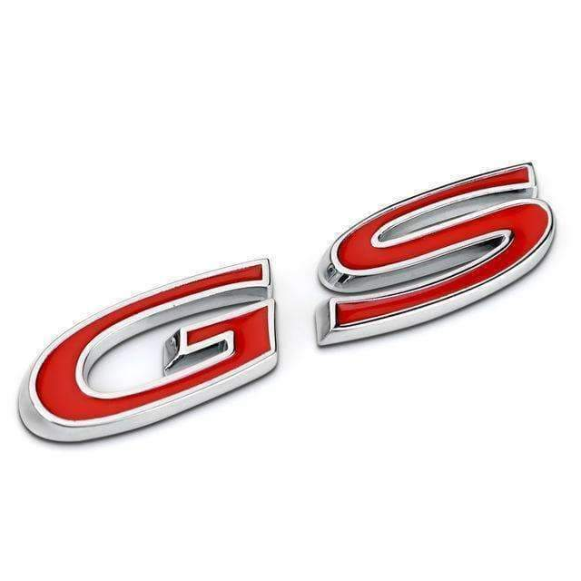 OPEL GS Emblem for Opel Emblems Stickers