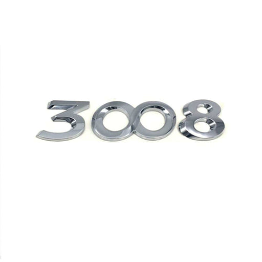 PEUGEOT Car 3008 Emblem Sticker for Peugeot Emblem Stickers