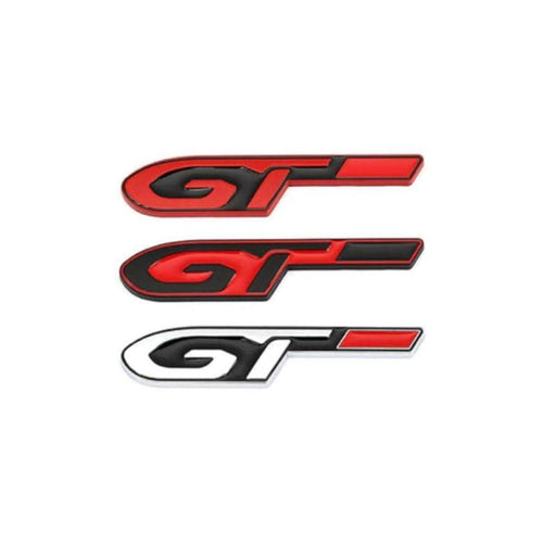 GT Emblem Sticker for Peugeot